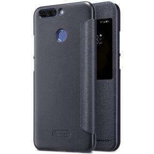 Nillkin Smartcover Schwarz für Huawei Honor 8 Pro Tasche Hülle Case Etui Schutz