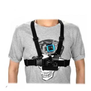 Brustgurt für GOPRO HERO 3+ 3 2 1 Chest Mount Belt Zubehör Brusthalterung