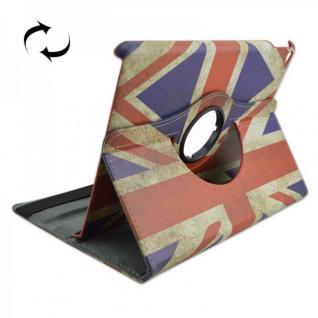 Schutzhülle Kunstleder Tasche 360 Grad UK für Apple iPad Air 2 2014 Case Kappe
