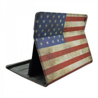 Schutzhülle Kunstleder Tasche USA für Apple iPad Air 2 2014 Case Kappe Etui Neu