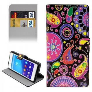 Schutzhülle Muster 8 für Sony Xperia Z3 Plus E6553 Bookcover Tasche Hülle Case
