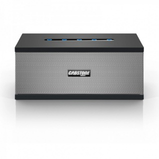 Cabstone Soundblock Bluetooth Lautsprecher Box Sound Box Schwarz 2 Wege System