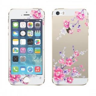 0, 3 mm dünne H9 Panzerglas Folie für Apple iPhone 5S 5 5C mit Muster Design 2