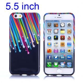 Silikon Case Muster 5 für Apple iPhone 6 Plus 5.5 Hülle Cover Schutz Zubehör Neu