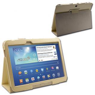 Schutzhülle Weiß Hülle Case für Samsung Galaxy Tab 3 10.1 P5200 P5210 + Folie