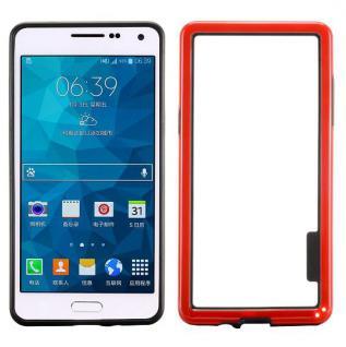 Hybrid Bumper Rot Hülle Case Schale Tasche für Samsung Galaxy A5 A500 A500F Neu