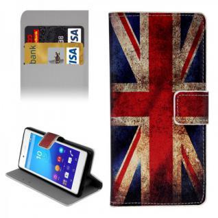 Schutzhülle Muster 9 für Sony Xperia Z3 Plus E6553 Bookcover Tasche Hülle Case