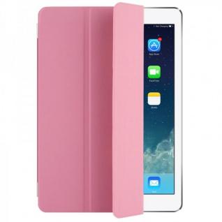 Smart Cover Rosa für Apple iPad Air Hülle Case Tasche Schutz Etui Zubehör Neu
