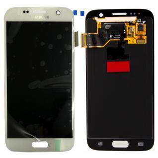Display Full LCD Komplettset GH97-18523D Weiß für Samsung Galaxy S7 G930 G930F