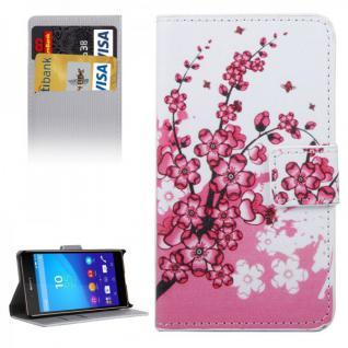 Schutzhülle Motiv 6 für Sony Xperia Z5 Compact 4.6 Zoll Bookcover Tasche Hülle