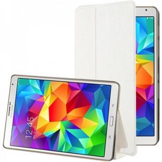 Smartcover Weiss für Samsung Galaxy Tab S 8.4 T700 Hülle Case Cover Zubehör