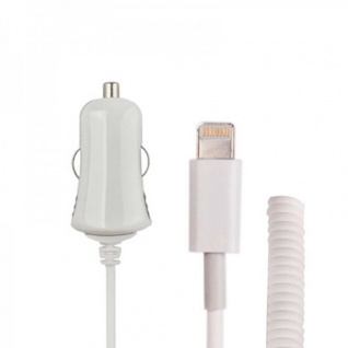 KFZ Auto Ladegerät Ladekabel Netzteil Günstig für Apple iPad 4 Zubehör Reisen