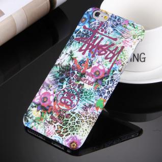 Day Night Schutzhülle Cover für Apple iPhone 6S 6 4.7 Style Hardcase Case Blumen