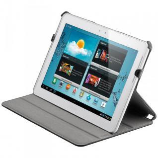 Original Goobay Schutzhülle Schwarz für Samsung Galaxy Tab 3 10.1 P5200 + Folie