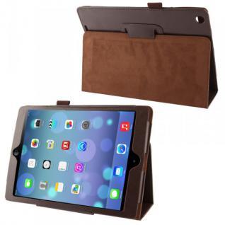 Schutzhülle Kunstleder Tasche Braun Case Etui für Apple iPad Air Case Hülle Neu
