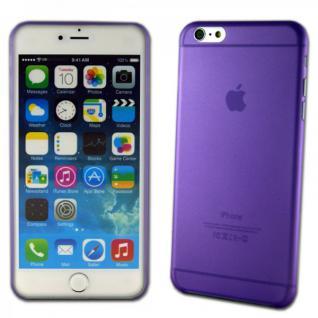 Hardcase Glossy Ultra Dünn 0, 3 mm Lila für Apple iPhone 6 Plus 5.5 Hülle Case