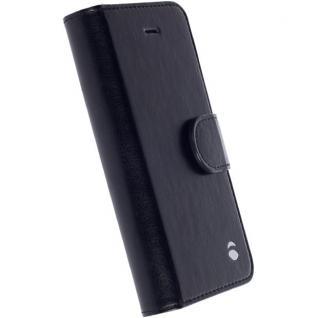 Krusell FolioCase Tasche Hülle Ekerö für iPhone 5 5S 5C SE Schutzhülle Schwarz