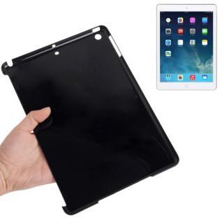 Hardcase Neon Schwarz für Apple iPad Air Case Cover Kappe Hülle Zubehör + Folie