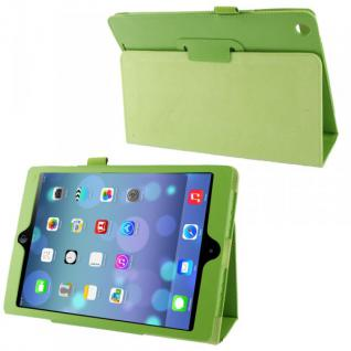 Schutzhülle Kunstleder Tasche Grün Case Etui für Apple iPad Air Case Hülle Neu