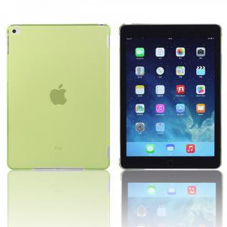 Hardcase Glossy Neon Grün für Apple iPad Air 2 2014 Hülle Case Cover Schale Neu