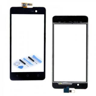 Reparatur Displayglas Touch Screen für Wiko Lenny 2 (nicht Lenny 1 ) Schwarz