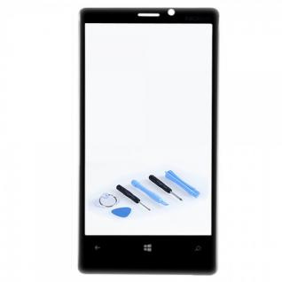 Displayglas Glas Schwarz für Nokia Lumia 1020 Zubehör Reparatur KIT Werkzeug Neu
