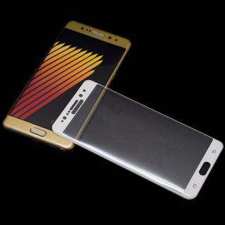 0, 3 mm H9 gebogenes Panzerglas Weiß Folie für Samsung Galaxy Note 7 N930F Schutz