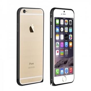 Original LOVE MEI Metall Bumper Schwarz für Apple iPhone 6 4.7 Schutz Zubehör