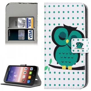 Schutzhülle Muster 44 für Huawei Ascend Y625 Bookcover Tasche Hülle Wallet Case