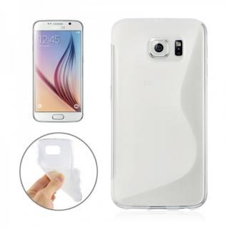 Silikonhülle S-Line Transparent Cover Hülle für Samsung Galaxy S6 G920 G920F Neu