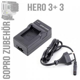 Ladegerät Home Charger für GoPro Hero 3 Travel Charger Zubehör + Ladekabel Neu