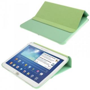 Smartcover Grün für Samsung Samsung Galaxy Tab 3 10.1 P5200 P5210 Case + Folie