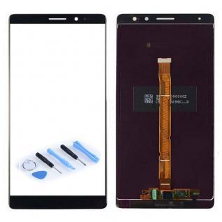 Ersatz Display LCD Komplett Einheit für Huawei Mate 8 Reparatur Schwarz Neu Top