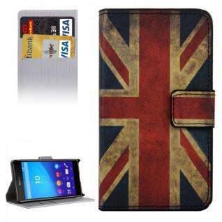 Schutzhülle Motiv 9 für Sony Xperia Z5 Compact 4.6 Zoll Bookcover Tasche Hülle