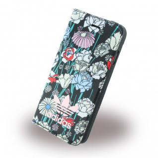 Adidas Bohemian Tasche Book Cover Apple iPhone 7 Hülle Handytasche Etui Bunt Neu