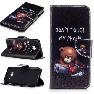 Schutzhülle Motiv 32 für Samsung Galaxy S8 Plus G955F Tasche Hülle Case Flip Neu