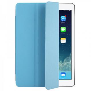 Smart Cover Hellblau für Apple iPad Air 2 Hülle Case Tasche Schutz Etui Zubehör