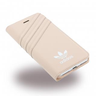 Adidas Basics Tasche Book Cover Apple iPhone 7 Plus Schutz Hülle Handytasche Neu