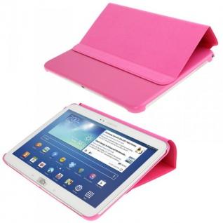Smartcover Pink für Samsung Samsung Galaxy Tab 3 10.1 P5200 P5210 Case + Folie