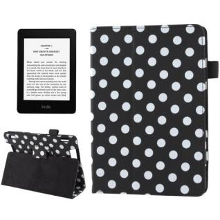 Schutzhülle Punkte für Amazon Kindle Fire HD 7 Version 2013 + Folie