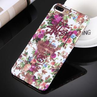 Day Night Schutzhülle Cover für Apple iPhone 7 Plus Style Hardcase Case Blumen