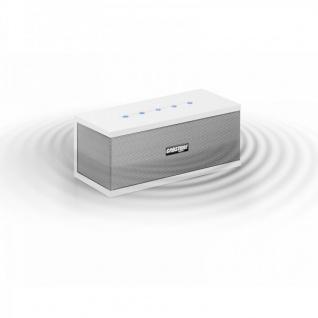 Cabstone Soundblock Bluetooth Lautsprecher Box Sound Box Weis 2 Wege System