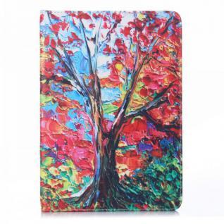 Schutzhülle Kunstleder Tasche Motiv 42 für Apple iPad Air 2 2014 Case Kappe Neu