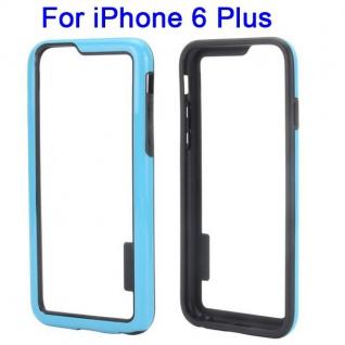 Hybrid Schutz Bumper Hellblau Hülle Case Tasche für Apple iPhone 6 Plus 5.5 Neu