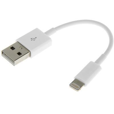 13 cm USB Daten / Lade Kabel Weiß für Apple iPhone 6 6S Plus SE iPad Pro Air Neu