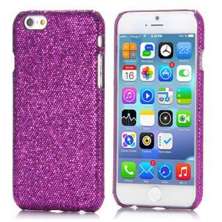 Hardcase Glitzer Lila für Apple iPhone 6 4.7 Case Cover Zubehör Hülle Günstig