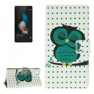 Schutzhülle Muster 44 für Huawei Ascend P8 Lite Bookcover Tasche Hülle Wallet
