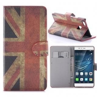 Schutzhülle Muster 9 für Huawei P9 Lite Bookcover Tasche Case Hülle Wallet Etui