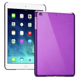 Hardcase Glossy Lila für Apple iPad Air Case Cover Hülle Schale Etui + Folie