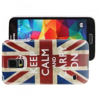 Hardcase Design Motiv Muster Hülle Case Schale Cover für Samsung Galaxy S5 Neu